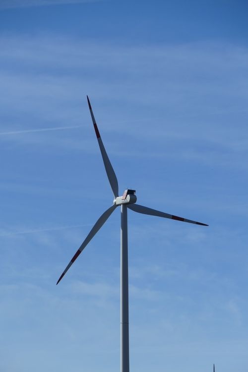nature wind turbines rotors