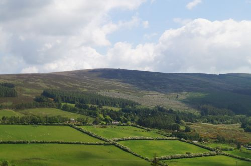 gamta,kaimas,žalias,žolė,kaimas,lauke,kraštovaizdis,pieva,Šalis,slėnis,Airija,glendalough,kaimo kraštovaizdis,natūralus kraštovaizdis,žemės ūkio