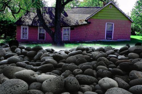 nature landscape stones