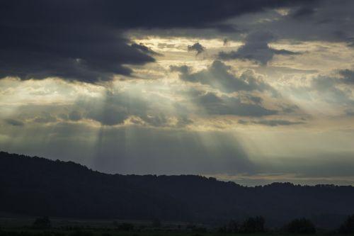 nature sunrise morgenstimmung