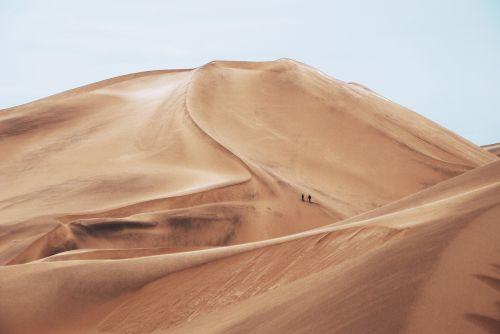 nature sand people