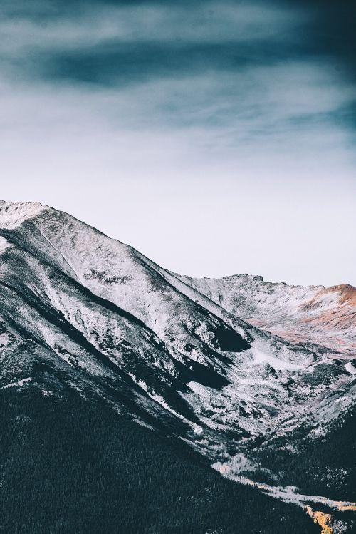 nature mountain hike