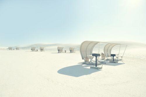 nature sand cabana