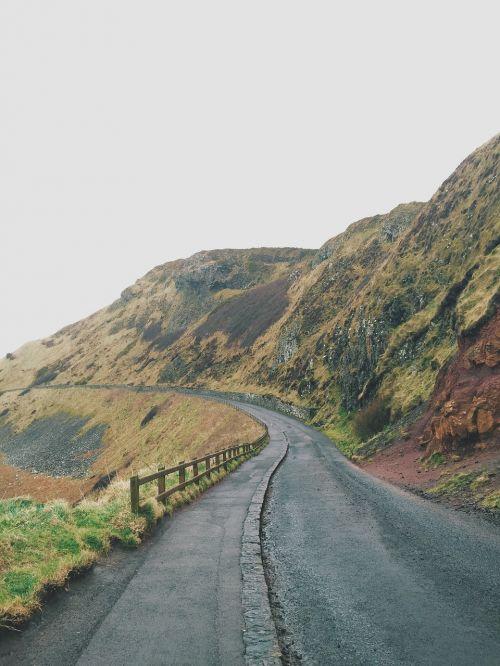 nature landscape roads
