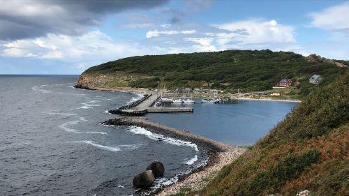 nature bornholm beach