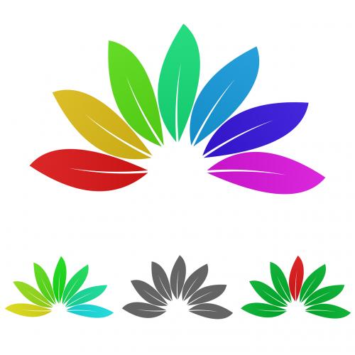 nature logo vector
