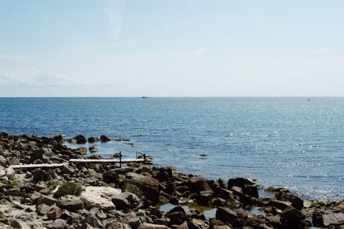 gamta,juoda,tiltas,Bulgarija,ramus,aišku,kranto,pakrantė,diena,Kelionės tikslas,atstumas,pėsčiųjų tiltas,horizontas,nesebaras,taikus