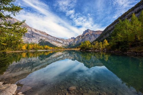 nature bergsee mirroring