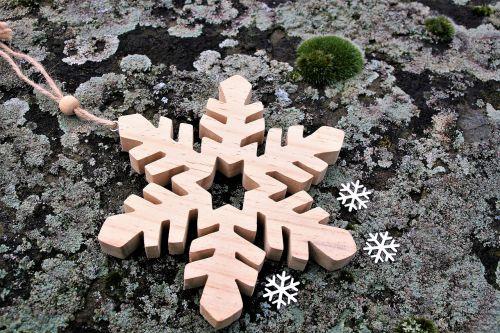 nature wooden asterisk