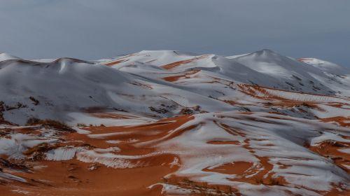 nature panoramic snow