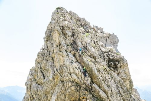 nature rock rise