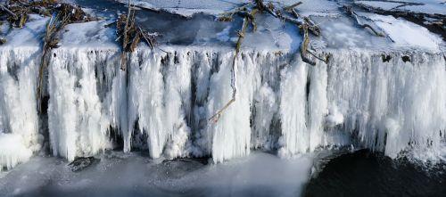 nature waters waterfall