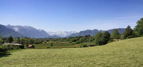 nature panorama landscape