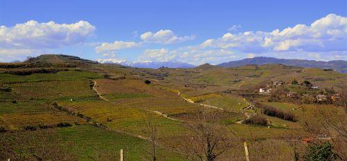 gamta, panoraminis, kraštovaizdis, dangus, lauke, kalnas, monteforte, dalpone, debesys, be honoraro mokesčio
