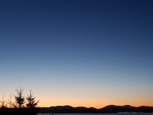 nature sky sunset