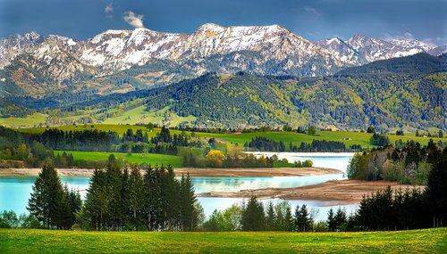 nature  mountain  lake