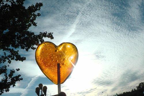 nature  sky  heart