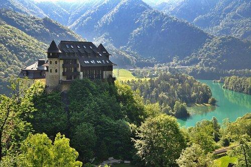 nature  landscape  castle