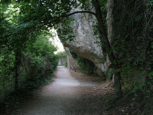 gamta,kalnas,takas,baseinas,Ispanija,Rokas,uolos ir augmenijos,kraštovaizdis