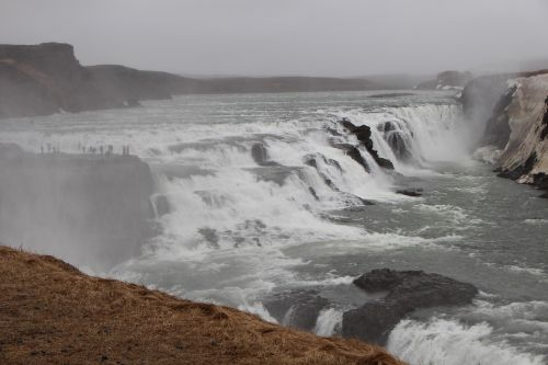 gamta,krioklys,iceland