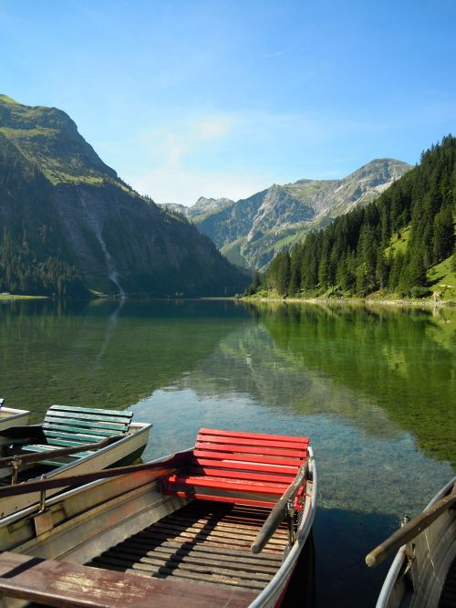nature vilsalpsee austria