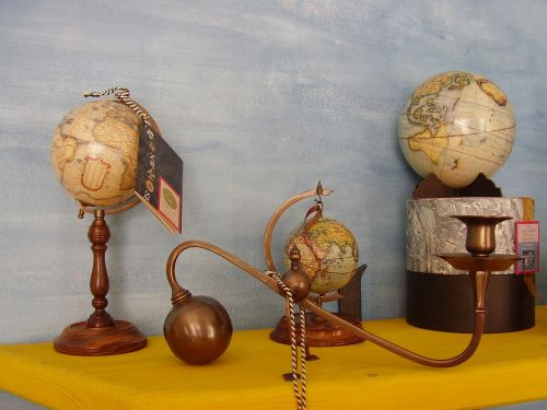 nautical retro globe