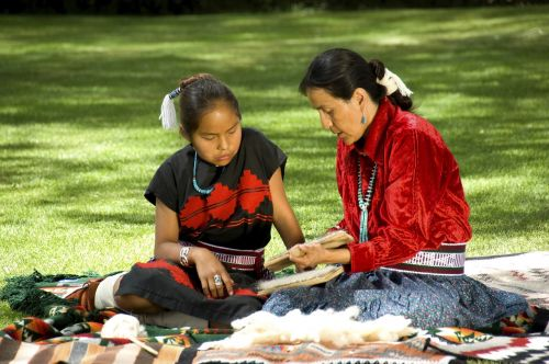 navajo elder elderly