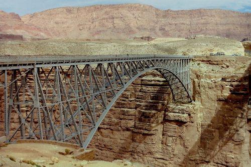 navajo bridge marble canyon steel