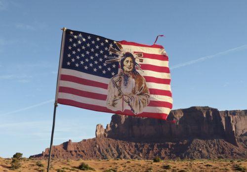 Indijos, indėnai, vėliava, amerikiečių & nbsp, vėliava, Arizona, dykuma, kalnai, Navajo, gamta, butte, kalnas, Navajo vėliava