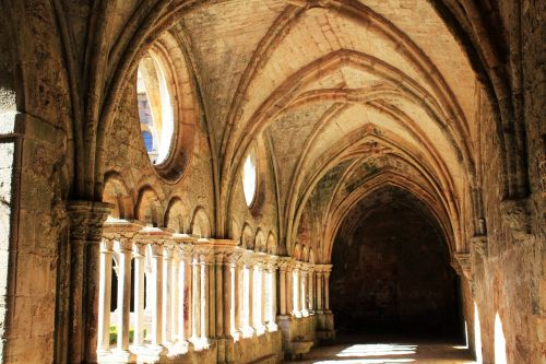 nave arches cloister