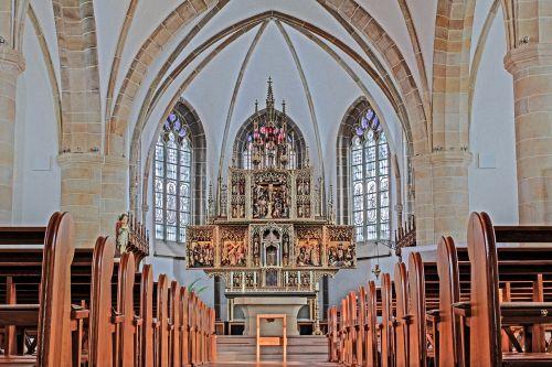 nave meppen altar