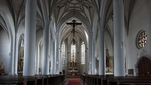 nave altar catholic