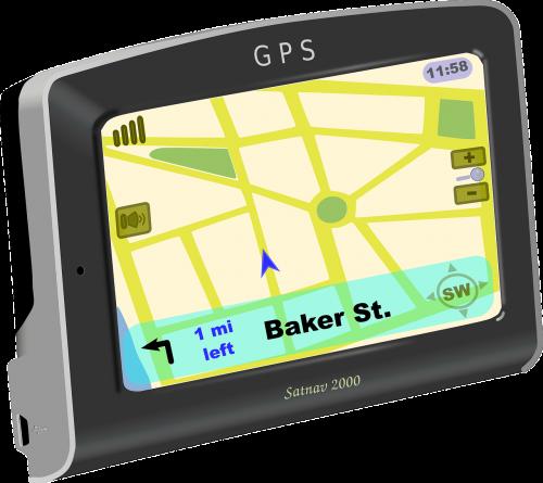 navigation system gps direction