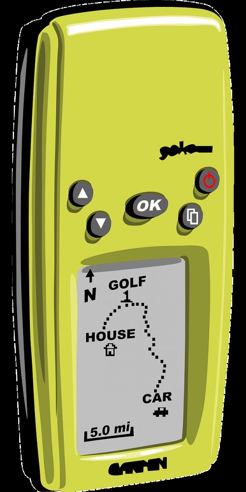 navigation system gps receiver handheld device