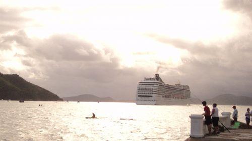 Ship Leaving