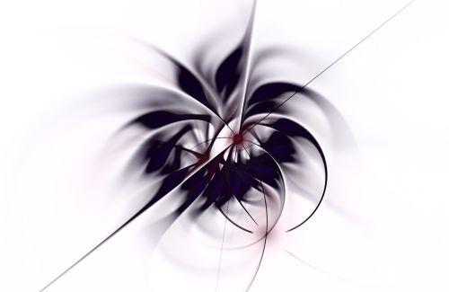 navy white fractal