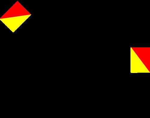 navy semaphore flag y