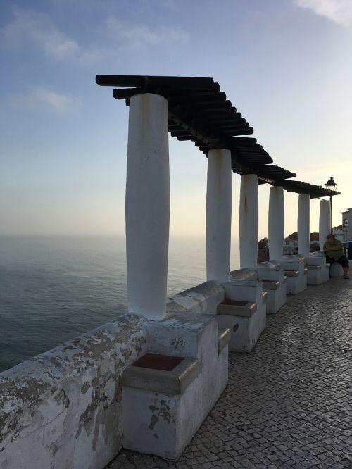 nazare sea portugal