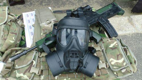 NBC Mask And Rifle