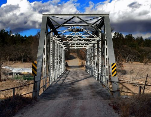 nebraska bridge landscape