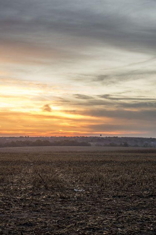 nebraska sunrise landscape