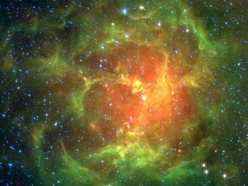 nebula trifid cosmos