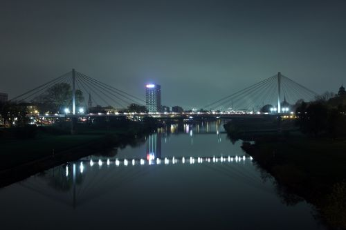 neckar mannheim bridge