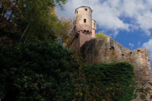 neckarsteinach castle neckar