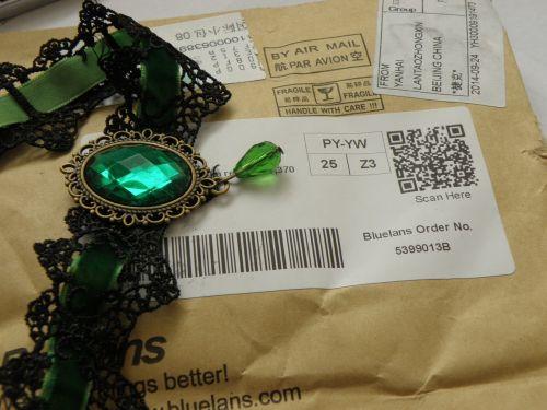 necklace gothic punk