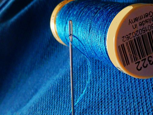 needle yarn sew