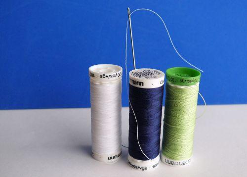 needle thread sew