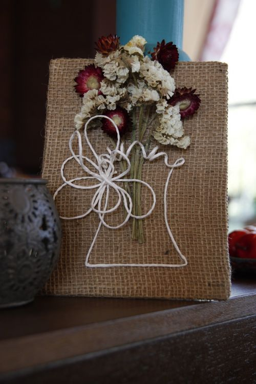 needlework crafts flowers