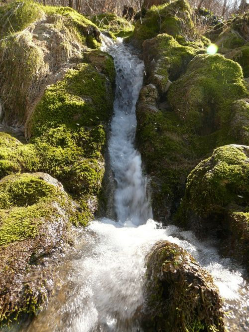 neidlinger waterfall bach creek