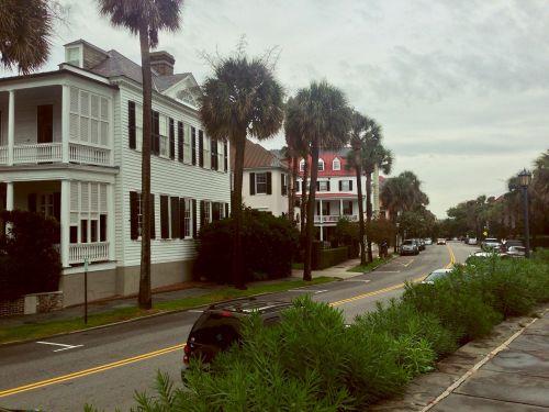 neighborhood houses row house